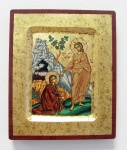 Ikone Christus Maria Magdalena 16 x 13 cm