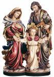 Heilige Familie mit Jesusknabe Holz geschnitzt handbemalt