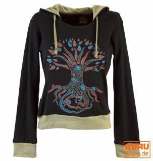 Hoody Hippie chic Baum des Lebens