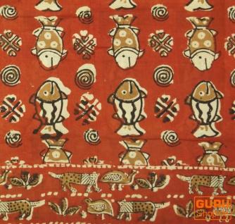 dünnes Tuch, Sarong, Wandbehang, Wickelrock, Sarongkleid - Vorschau 3