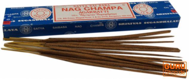 Nag Champa - Sai Baba Satya Räucherstäbchen 40g