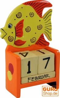 bunter Kinder-Kalender Fisch