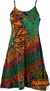 Batik Minikleid, Hippiekleid