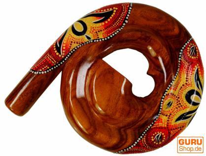 Rundes Didgeridoo (Holz)