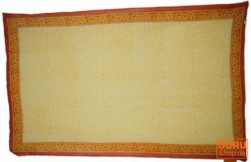 dünnes Tuch Sarong, Wandbehang, Wickelrock, Sarongkleid 114 - Vorschau 3