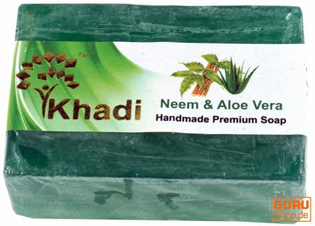 Khadi Seife Neem & Aloe Vera