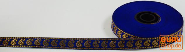 Orient Bordüre, Webband aus Indien, 1, 5 cm breit, 1m