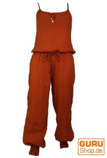 Goa Jumpsuit, Hippie Overall rostorange