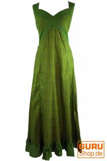 Sommerkleid, Maxikleid, Strandkleid grün