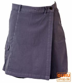 Goa Shorts, Hosenrock taubenblau