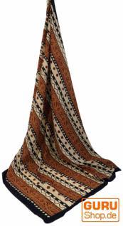 dünnes Tuch Sarong, Wandbehang, Wickelrock, Sarongkleid 113 - Vorschau 3
