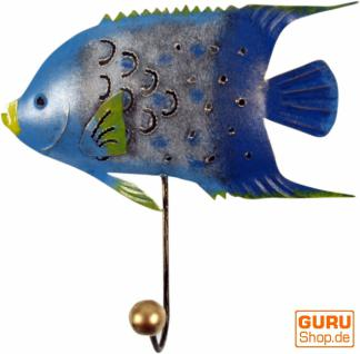 Kleine Blech Kleiderhaken`Fisch`