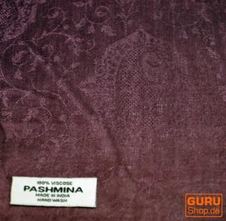 Indischer Schal altrosa - Vorschau 2