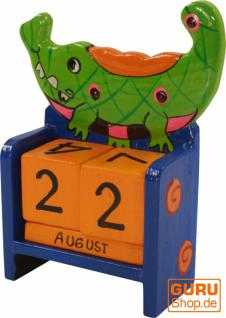 bunter Kinder-Kalender Krokodil