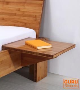 Nachttisch `Yin` für Bambusbett - natur braun