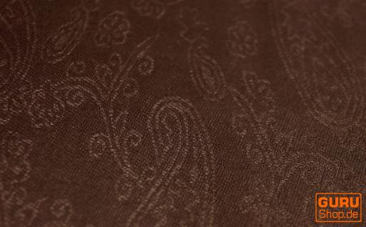 Indischer Schal braun - Vorschau 2