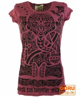 Sure T-Shirt Tribal Ganesha bordeaux