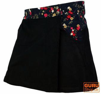 Goa Shorts, Hosenrock, schwarz