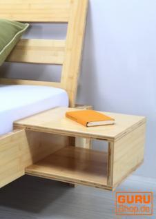 Nachttisch `Yang` für Bambusbett - natur braun