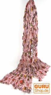 Baumwolltuch mit Blumenmuster in 4 Farben - Vorschau 3
