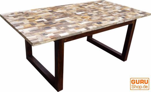 Marmor esstische g nstig sicher kaufen bei yatego for Esstisch mit marmorplatte