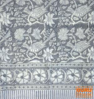 Indischer Loop Schal handbedruckt - Vorschau 2