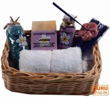 Wellness Spa Geschenkbox Lavendel