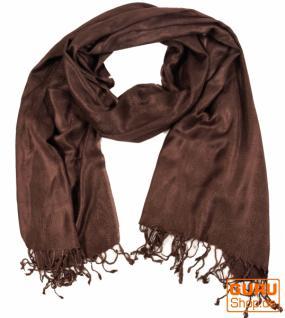Indischer Schal braun - Vorschau 1