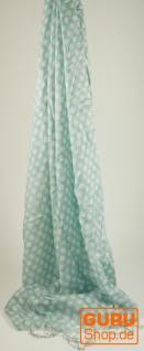 Schal mit Pünktchen in 2 Farben - Vorschau 2