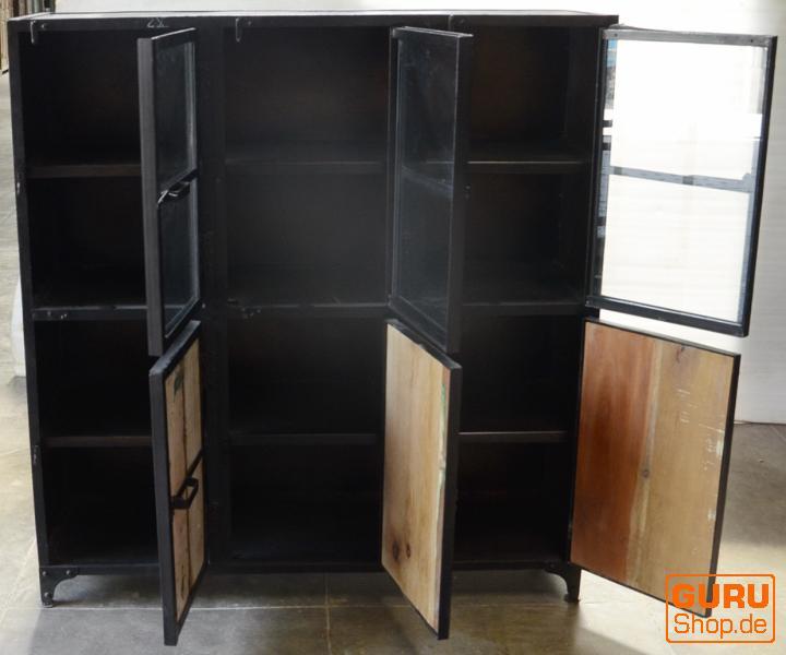 metall schrank vintage design kaufen bei guru shop gmbh. Black Bedroom Furniture Sets. Home Design Ideas