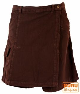 Goa Shorts, Hosenrock - braun