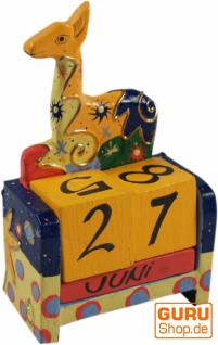 bunter Kinder-Kalender Giraffe