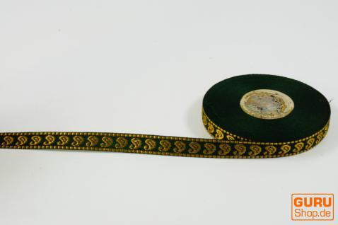 Orient Bordüre, Borte aus Indien, 1, 5 cm breit, 1m