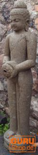 Stein Buddha Statue, Brunnenfigur - 18