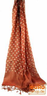 Schal mit Pünktchen in 2 Farben - Vorschau 1