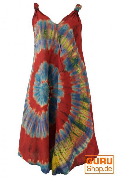 Batik Tunika Hippie chic, Strandkleid
