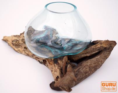 Wurzelholz Vase - 4