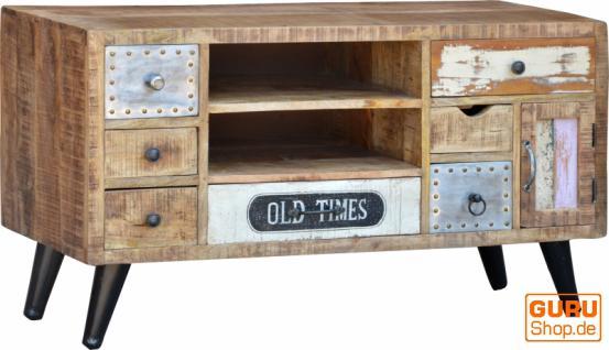fernsehtisch vintage design kaufen bei guru shop gmbh. Black Bedroom Furniture Sets. Home Design Ideas