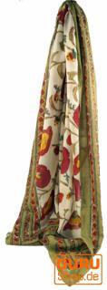 dünnes Tuch Sarong, Wandbehang, Wickelrock, Sarongkleid 103 - Vorschau 2