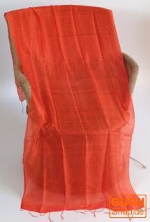 Seidentuch Thai orange - Vorschau 2