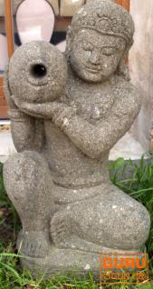 Stein Brunnenfigur