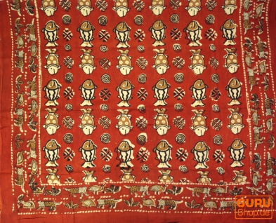 dünnes Tuch, Sarong, Wandbehang, Wickelrock, Sarongkleid - Vorschau 2