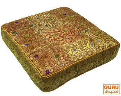 orient leder xl sitzkissen rechteck kaufen bei l 39 artisan orientalische wohnkultur. Black Bedroom Furniture Sets. Home Design Ideas