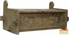 Antike Holztruhe, Holzbox. Holzkiste