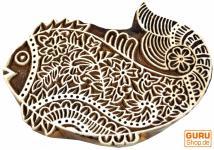 Holzstempel Fisch 1