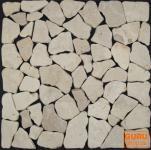 Mosaikfliesen aus weißem Marmor (G-01)