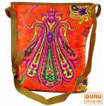 Hippie Tasche, Schulterbeutel Neon Bag