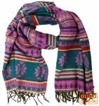 Weicher Inka-Schal