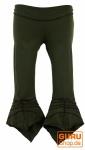 Elfen Leggings, Psytrance Goa Leggings - olive