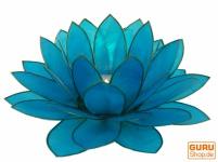 Lotus Teelicht Muschel 20 cm in 11 Farben